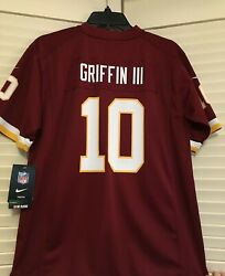 Washington Redskins Jersey Robert Griffin 10 Nike On Field Youth Lg Or Xl Nwt