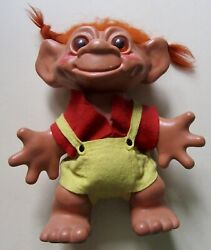Vintage 1964 Dam Things Establishment Troll Doll With Clothes Approx.29cm