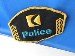 Cp Canadian Pacific Railroad Police Vintage Patch Badge Train Railway
