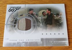 James Bond Die Another Day - Ac1 Case Topper Costume Card 2 Colours