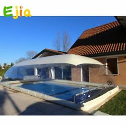 Outdoor Clear Inflatable Customized Swimming Pool Cover Dome With Covered New