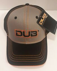 Dub Automotive Black And Sliver Baseball Hat Adult Snapback New With Tags