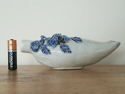 Antique Chinese Yuan Dynasty 1279andndash1368 Blue And White Porcelain Water Dropper