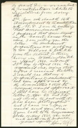 Stephen Neal - Autograph Letter Signed 04/09/1891