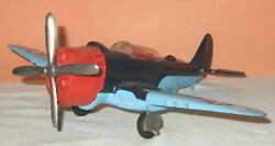 All Orig. 1960's Hubley Navy Fighter Bomber Airplane 495