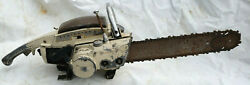 Monster Remington Bantam Chainsaw Logging Camp Collectible Big Early Saw