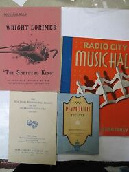 Lot 4 Theater Theatre Plymouth Radio City Alix Jeffry Off Broadway Archive