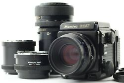 [exc4 W/ Extension Tube] Mamiya Rz67 Pro Sekor Z 110mm 100-200mm Japan A309