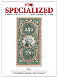 Scott Specialized Catalog 2022 United States Stamps And Covers - Us Reference Book