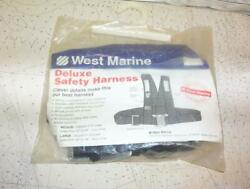 Boatersandrsquo Resale Shop Of Tx 2109 2547.71 West Marine Lg. Deluxe Safety Harness