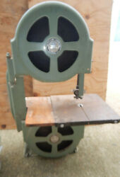 Vintage Walker Turner 12 Band Saw W/ Geared Table Trunnion