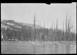 N58 1910and039s Large Negatives..one Of The Beautiful Sierra Mammoth Lakes California