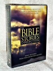 The Bible Stories Collection 12-disc Dvd, 2016 New Ben Kingsley, Leonard Nimoy