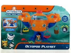 Fisher-price Octonauts Octopod Playset With Kwazii And Barnacles Figures Brand New