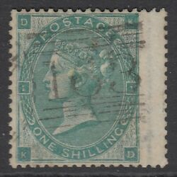 Sg 90a 1/- Green Variety Andlsquokandrsquo In Circle. Very Fine Used With Scottish Andlsquo163andrsquo...