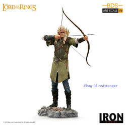 Iron Studios Legolas Lord Of The Ring 1/10 Statue Resin Painted Model In Stock
