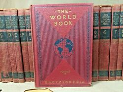 The World Book Encyclopedia Complete Set 19 Vol 1946