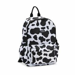 Mini Cow Print Backpack for Women and Girls 12.6 x 23.8 x 5 $17.99