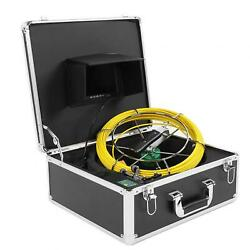 7 Dvr 1080p Dual Camera Waterproof 50m Cable Underground Pipe Inspection System