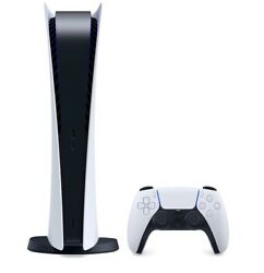 Sony Ps5 Digital Edition Console - White