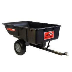 Brinly-hardy Utility Cart 17 Cu. Ft. Rust Resistant Pneumatic Tires Universal