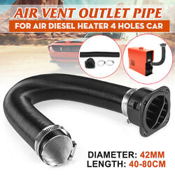 42mm Air Duct Pipe + Warm Air Outlet Clamp For Webasto Domestic Diesel Heater
