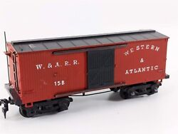 Mantua Tyco 1860 Western And Atlantic Old Time Wooden Boxcar Wandarr 158 Ho Scale