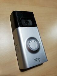 Ring Video Wireless Doorbell 2 Remote Security Camera Only