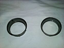 1960and039s Triumph Bsa Velocity Stacks Set Of 2 Plastic For Amal Carbs - Mc231