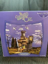 Dept 56 Wicked Witch Of The West Castle Nib First Production With Printing Error