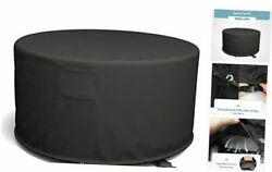 50and039and039 Round Fire Pit Cover Fits Wood Burning Firepit Fire Pit Grill Or Fire