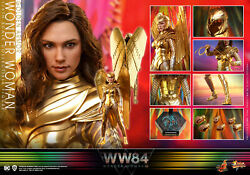 Hottoys Hottoys Mms577 Quotwonder Woman 1984quot Wonder Woman Gold Armor Vers