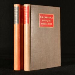 1938 2vol To His Biographer Robert Graves And Liddell Hart Te Lawrence Signed...
