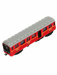 Russian Subway Metro Train Red Arrow Inertial Die-cast Scale Model Toy 5,9