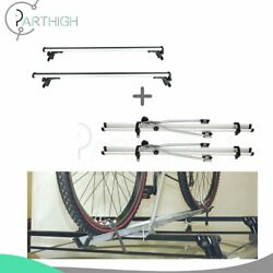 Roof Rack Car Crossbar For Silver 50 Universal Luggage Cargo And Rack Bicycle