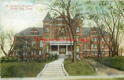 8 Postcards Sioux City Iowa Various Scenes Hospital-elks-college-library