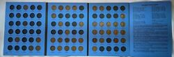 1909 To 1940 -lincoln Wheat Cent Penny Collection - Whitman Album- 43 Coins W3