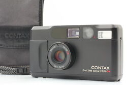 [mint In Case] Contax T2 Limited 2000 Black 35mm Point And Shoot Film Camera Japan