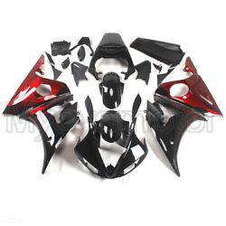 Motorcycle Abs Fairings For Yamaha Yzf R6 2003 2004 03 04 Red Black Bodywork