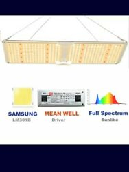 Spider Farm Sf-2000 Led Grow Light 4x4 Ft Coverage W. Samsung 301b Chips Dimmer