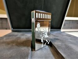 Limit Difficult To Obtain Dupont Statue Of Liberty Line Limited Lighter