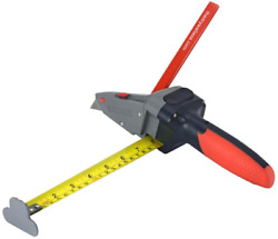 All-in-one Hand Tool With Measuring Tape And Utility Knife-mark And Cut Drywall