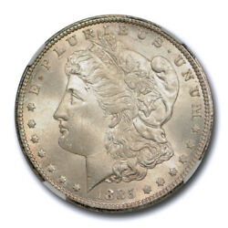 1885 Cc 1 Morgan Dollar Ngc Ms 65 Uncirculated Cac Approved Nice Cert0003