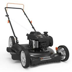 Push Lawn Mower 21 In. 140 Cc 500e 2-in-1 Cutting Briggs And Stratton Engine Gas
