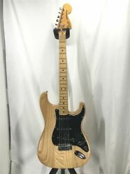 Used Fender 1979 Stratocaster Nat Paint Peeling Neck Pu Replacement Genu