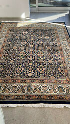 Indian Rug Hand Knotted Cotton Wool 6and0395 X 8and0394
