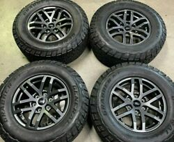 2021 Ford Ranger Tremor Factory 17 Wheels Tires Oem Hb3c1007a1a A/t General A/t