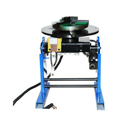Plc Controller Welding Positioner Turntable Table 50kg With 200mm Chuck 110v