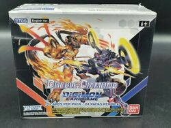 Digimon Card Game Double Diamond Booster Display Bt06 24 Packs En Neu And Ovp