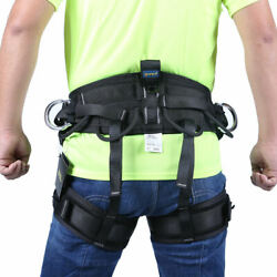 Tree Climbing Rappelling  Harness Safety Sitting Bust Belt Tool